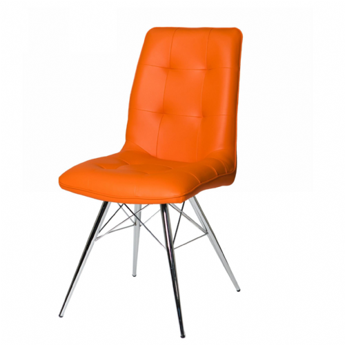 Home Essential  PMT Orange Chairs
